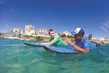 Bondi Surf Lesson 1 hr - Private or Family Group