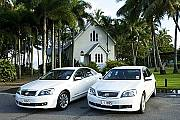 Cairns Airport to or from Cairns Beaches - Sedan (per vehicle)