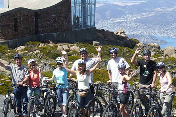 Mt Wellington MTB Descent 1PM Departure