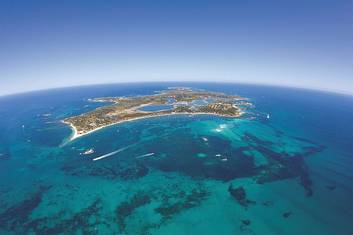 Rottnest Island Oliver Hill Train and Tunnel Package from Perth
