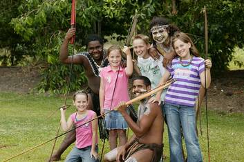 General Admission + Cultural Creations + Indigenous Guided Bush Food Trail with Transfers - (Cairns City & Northern Beaches)